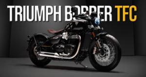 Nova Triumph Bobber TFC apresentada em Milão thumbnail