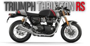 Nova Triumph Thruxton RS de 2020 – Estilo Café Racer de topo thumbnail