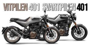 Husqvarna Vitpilen 401 e Svartpilen 401 de 2020 thumbnail