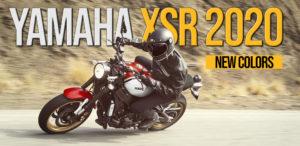 Yamaha XSR900 e XSR700 de 2020 com novas cores vintage thumbnail