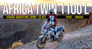 ENSAIO HONDA AFRICA TWIN 1100 L ADVENTURE SPORTS ES DCT de 2020 thumbnail