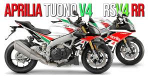 APRILIA RSV4 RR 1100 e TUONO 1100 RR Exclusive – Limited Editions 2020 thumbnail