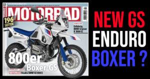 BMW GS 800X  – Uma possível Adventure Enduro na linha da HP2 ? thumbnail