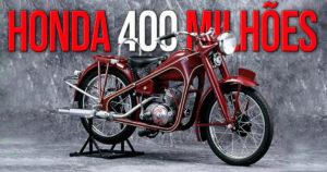 A Honda comemora a produção global de 400 milhões de unidades, entre motos e scooters thumbnail