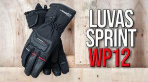 Novas Luvas Sprint WP12 com forro térmico thumbnail
