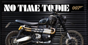"Parceria TRIUMPH Motorcycles e James Bond 007 – ""NO TIME TO DIE"" thumbnail"