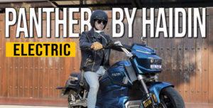 A PANTHER da HADIN – Uma Cruiser HiTech Elétrica para 2020 thumbnail
