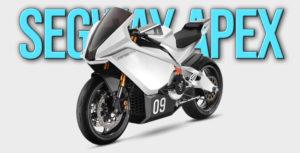 Segway Apex Electric – Uma desportiva fabricada pela Ninebot thumbnail