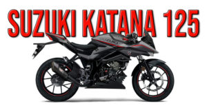 Kit de carenagens Katana para Suzuki GSX-S e GSX-R 125 thumbnail