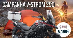 Suzuki V-Strom 250cc com mais Equipamento e com preço promocional thumbnail