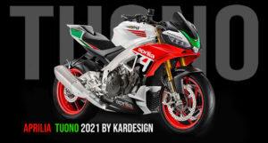 A Aprilia Tuono 1100 V4RR – A evolução que se espera para 2021 thumbnail