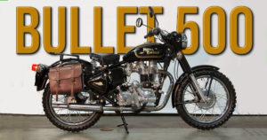 Royal Enfield termina a produção da mítica Bullet 500 thumbnail