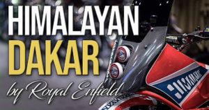 Royal Enfield Himalayan – Dakar Concept thumbnail