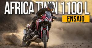 Ensaio Honda Africa Twin 1100 L de 2020 – No meio pode estar a virtude thumbnail