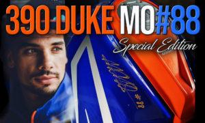 KTM Duke 390 Edição Especial – Comemorativa dos 25 Anos de Miguel Oliveira thumbnail