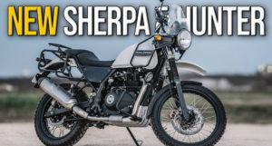 A Royal Enfield Sherpa e Hunter – Marcas registadas para novos modelos thumbnail