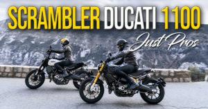 Novas Scrambler Ducati 1100: Just PROs thumbnail