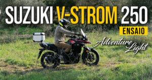 ENSAIO SUZUKI V-STROM 250 –  O início de uma Aventura em Duas Rodas thumbnail