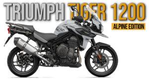 TRIUMPH TIGER 1200 ALPINE 2020 – Edição Especial thumbnail
