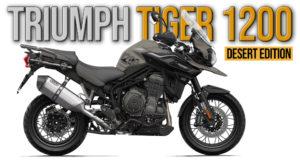 TRIUMPH TIGER 1200 DESERT 2020 – Edição Especial thumbnail