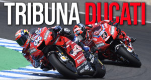 Tribuna Ducati no G.P. de Espanha – Jerez 2020 thumbnail