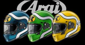 Capacetes ARAI Concept X – Os clássicos dos anos 80 estão de volta. thumbnail