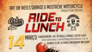 Ride to Lunch – da Art on Wheels e Mustache Motorcycle a 14 março thumbnail