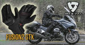 Luvas REV'IT! Fusion 2 GTX – A combinação perfeita com punhos aquecidos thumbnail