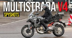 Ducati Multistrada V4 – Descoberto protótipo a rodar em última fase de desenvolvimento thumbnail