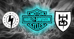 Harley-Davidson regista dois novos logos para identificar a sua gama de elétricas thumbnail