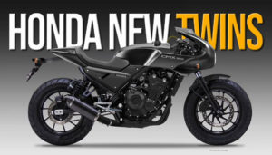 A Honda trabalha em dois novos projectos de motos de estrada com motor da Africa Twin 1100 thumbnail