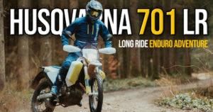HUSQVARNA '701 ADVENTURE ENDURO LR CHEGA AO MERCADO thumbnail