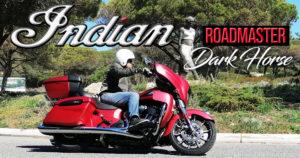 ENSAIO INDIAN ROADMASTER 116 – Dark Horse de 2020 – 400 Kg de Extrema Leveza thumbnail
