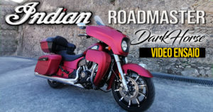 Vídeo do Ensaio da nova Indian Roadmaster versão Dark Horse thumbnail