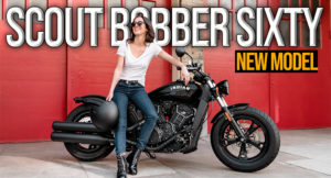 "A Nova Scout Bobber Sixty da Indian Motorcycle torna o estilo rebelde e ""old-shool"" mais acessível do que nunca thumbnail"