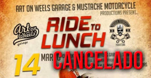 "Cancelado o evento ""Ride for Lunch"" da Art on Wheels thumbnail"
