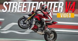 DUCATI StreetFighter V4 – Vídeo da Apresentação thumbnail