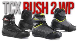 Botas Rush 2 WP da TCX – Alto índice de conforto, design desportivo e 100% impermeáveis thumbnail