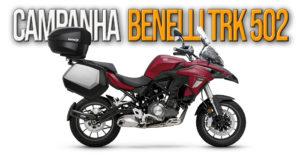 Benelli lança campanha de oferta de Pack de Malas SHAD para o modelo TRK 502 thumbnail