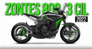 ZONTES 800 COM MOTOR TRICILÍNDRICO PARA 2022 thumbnail