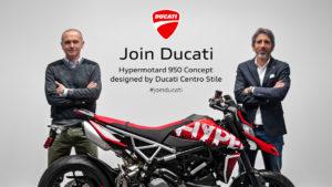 'Join Ducati': o vencedor do concurso já é conhecido e irá   receber uma Hypermotard 950 nova com uma decoração especial thumbnail