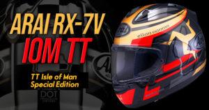 Edição Limitada do Capacete ARAI RX-7V Isle Man TT 2020 thumbnail