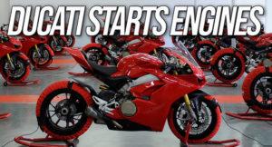 A Ducati volta a ligar os seus motores – Novas motos chegarão em breve aos concessionários thumbnail
