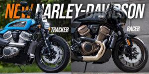 Novas Harley-Davidson Flat Tracker e Café Racer thumbnail