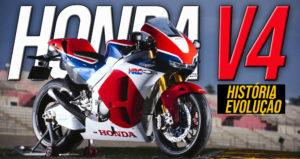 O Motor V4 da Honda – História da sua Evolução thumbnail