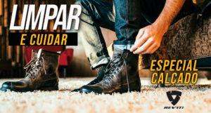 Conselhos sobre como limpar e cuidar do calçado de moto – by REV'IT thumbnail