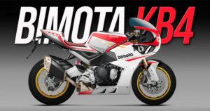 Mais pormenores sobre a Bimota KB4 – A nova desportiva Neo-Clássica da marca transalpina thumbnail