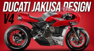 Homenagem da Jakusa Design à mítica Ducati MH900e thumbnail