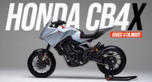 HONDA CB4X Sport Tourer – Uma Concept pronta para Produção thumbnail