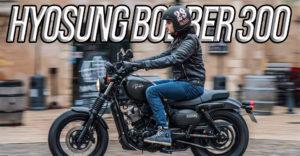 Hyosung Aquila Bobber GV300S – Novidade 2020 thumbnail